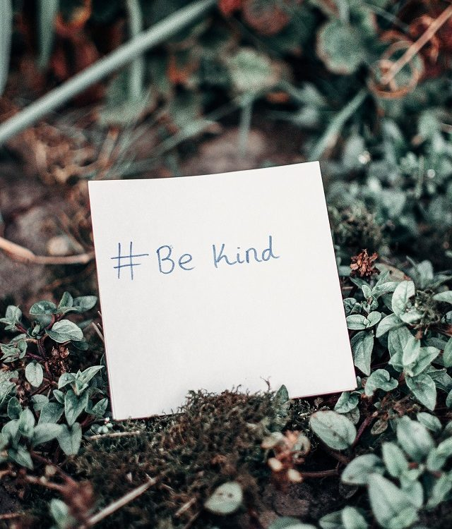 #be kind