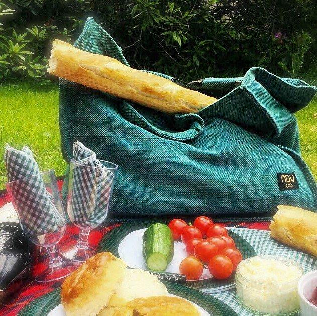 canvas picnic bag