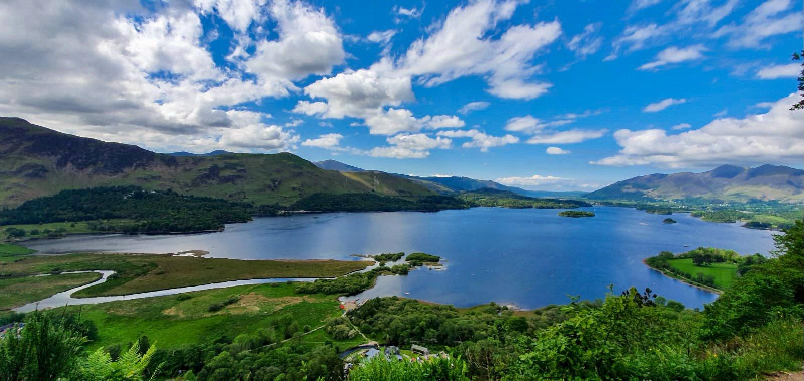 Peak District lake