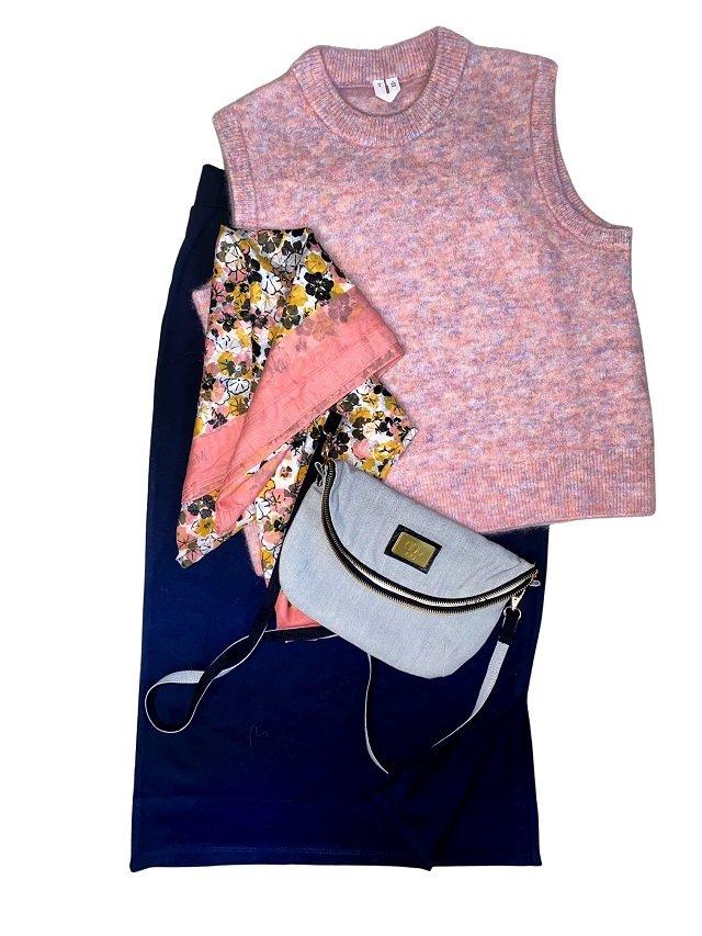cotton clutch handbag